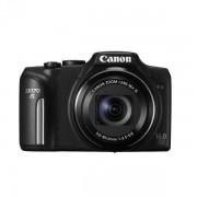 Цифров фотоапарат Canon PowerShot SX170 IS, Черен