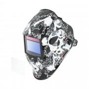 Maschera da saldatore - BLACK SKULL - SERIE ADVANCED