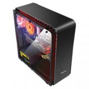 Кутия Segotep, Raynor Tower T3 Black, ATX/Micro ATX/ITX, RTOWERT3-BK, 2x USB 3.0, с прозорец, без захранване