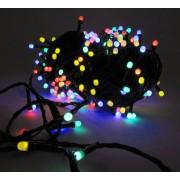 Ghirlanda- instalatie de iluminat multicolora cu 320 LED-uri superluminoase