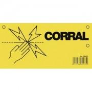 Figyelmeztető tábla CORRAL