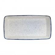 Churchill Super Vitrified Churchill Stonecast Hints Rectangular Baking Dishes Indigo Blue 325 x 530mm