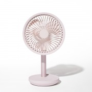 XIAOMI YOUPIN SOLOVE Desktop Fan Swing Head 3 Wind Speed Type-C Charging - Pink