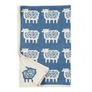Klippan Yllefabrik Sheep bomullschenille blue, klippan yllefabrik