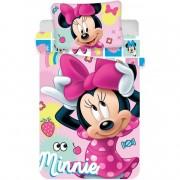 Set lenjerie pat copii Minnie 100x135 SunCity