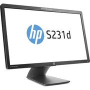 "Monitor HP 23"" EliteDisplay, S231d, 1920x1080, LCD LED, IPS, 7ms, 178/178o, VGA, DP, crna, 36mj, (F3J72AA)"