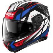 Nolan N87 Originality N-Com Helmet Black Purple S