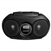 Microsistem Philips, AZ215B, CD player,3W, Negru