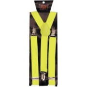 Tiekart Y- Back Suspenders for Men(Yellow)