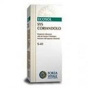 FORZA VITALE ITALIA Srl Suplemento Ecosol Sys Cilantro Alimentos gotas 50ml