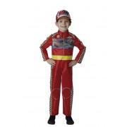 Rubies Disfraz de piloto de Cars 3 infantil - Talla 7 a 8 años