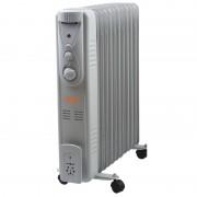 Stufa elettrica ad olio/Radiatore oleodinamico 11 elementi 2500W Vinco - 70502