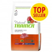 Trainer Natural Dog Trainer Natural Medium Adult Manzo & Riso - 2 x 12 kg