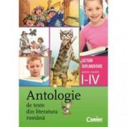 Antologie de texte din literatura romnana