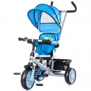 Tricicleta cu copertina si sezut reversibil Chipolino Twister Blue