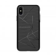 Husa din silicon cu functie magnetica Nillkin Magic Case pentru iPhone X, Negru