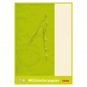 Hartie milimetrica 80 grame/mp A3 20 file