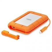 LaCie Rugged 1TB Thunderbolt USB-C SSD Portable Hard Drive + 1mo Adobe CC All Apps (STFS1000401)