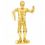 Metal Earth Star Wars 3D Model Kit C-3PO Gold 570270