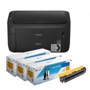 Pachet Imprimanta laser mono Canon LBP6030 si 3 tonere echivalente CE285A