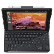 Logitech Keyboard Cover iPad Slim Folio 5th+6th gen.