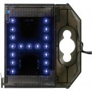 Lunartec LED-Letter H - blau