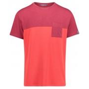 Meru Trikala Jersey - T-Shirt escursionismo - uomo - Dark Red/Red