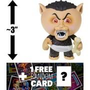 Eerie Eric: ~3 Garbage Pail Kids x Funko Mystery Minis Mini-Figure Series #2 + 1 Free GPK Trading Card/Sticker Bundle (108454)