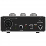 Behringer U-Phoria UM2 Interface USB de audio