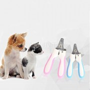 ELECTROPRIME® Pet Dog Cat Nail Clipper Cutter Trimmer Grooming Scissors with Nail File L