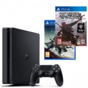 Конзола PlayStation 4 Slim 500GB Black, Sony PS4 + Игри Destiny 2 и Homefront: The Revolution за PS4