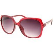 NASAN Over-sized Sunglasses(Violet)