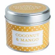 The Country Candle Company Polka Dot Collection Coconut & Mango