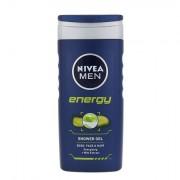Nivea Men Energy sprchový gel na tělo, tvář a vlasy 250 ml pro muže