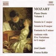 W. A. Mozart - Piano Duets Vol.1 (0730099451826) (1 CD)