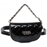 Чанта за кръст GUESS - Melise (TG) Mini HWTG76 67800 BLA