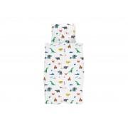 Snurk Dekbedovertrek PAPER ZOO Multicolor