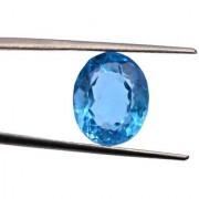 6.35 Ratti Best quality Blue Topaz stone Lab Certified