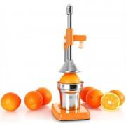 oneConcept EcoJuicer juicepress hävarm orange