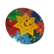 Tinny Educational Aids Check Shape Board Learning Puzzle for Kids Education