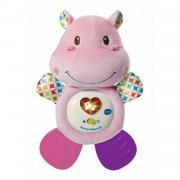 VTech bijtring nijlpaard roze 20 cm