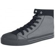 R.E.D. by EMP Walk The Line Sneakers zwart-grijs