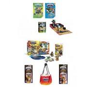 Best Bargins New Skylander (8Pc) Bundle Deal: Superchargers Racing Starter Pack, Garage Storage Case, 2 Fun Packs, Mystery Chest, Guide Books W/Poster (Nintendo Wii)