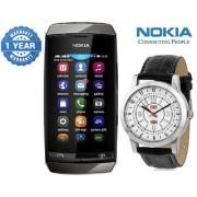 Nokia Asha 310 (1 year Warranty Bazaar Warranty) with Watch