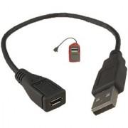 Micro USB Female To USB Male Morpho Fingerprint Device Female OTG Cable 1pc