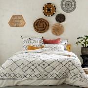 LA REDOUTE INTERIEURS Bettbezug Afro Craft