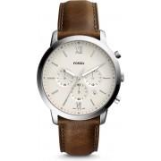 Fossil Zilverkleurig Mannen Horloge FS5380