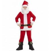 Costum Mos Craciun Santa Claus 5 - 7 ani 128 cm