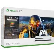 Microsoft Consola XBOX ONE S de 1TB + juego Anthem: Legion of dawn edition (Edad mínima recomendada: 16)
