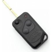 Carcasa cheie tip briceag Land Rover cu 3 butoane Culoare negru
